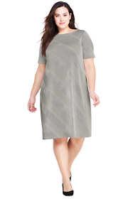 Women's Plus Size A-Line Dress