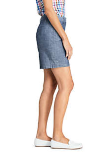 "Women's Mid Rise 7"" Chino Shorts, Unknown"
