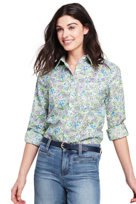 Women's Cotton Linen Roll Sleeve Shirt