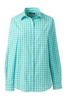 6b3a7ed39c Women s Patterned Cotton Linen Roll Sleeve Shirt