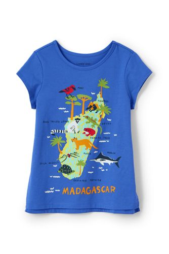 Le T-Shirt Graphique Manches Courtes, Fille