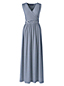 La Maxi Robe Rayée Effet Cache-Coeur, Femme Stature Standard