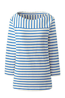 Women's Mixed Stripe Jersey Top