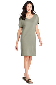 Women's Knitted T-shirt Dress