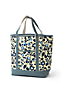 Large Printed Open Top Canvas Tote Bag