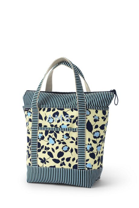 All Over Print Medium Zip Top Tote Bag