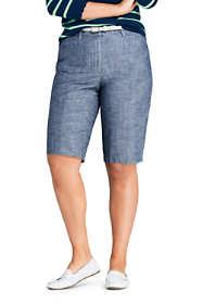 "Women's Plus Size Chino 12"" Shorts"