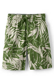 Toddler Boys Printed Flex Waist Pull On Cargo Shorts