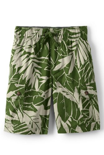 Little Boys' Printed Pull-on Cargo Shorts