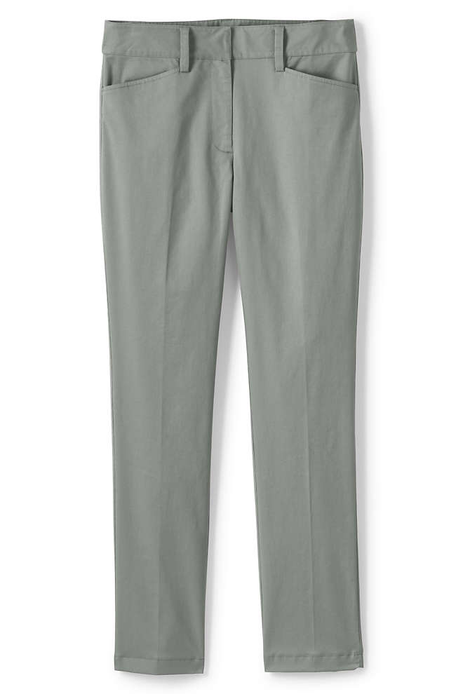 Women's Chino Straight Leg Pants, Front