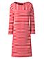 Women's Striped Sailor T-shirt Dress