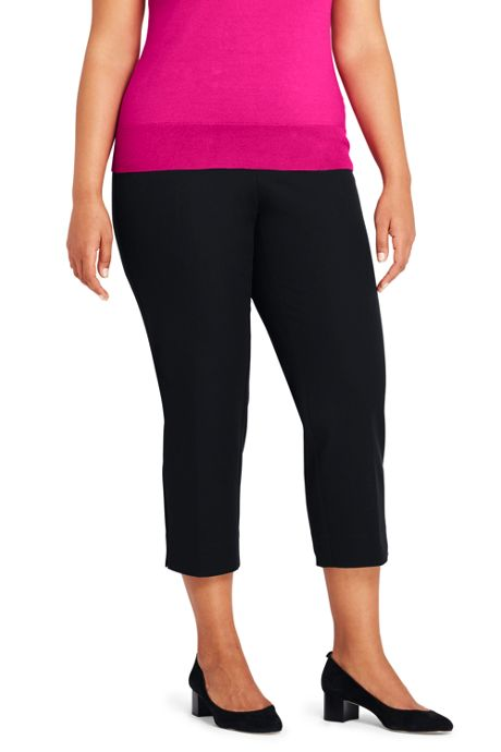 Women's Plus Size Pencil Crops
