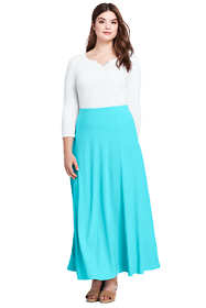 Women's Plus Size Maxi Skirt