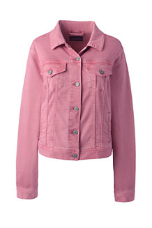 Women's Coloured Denim Jacket
