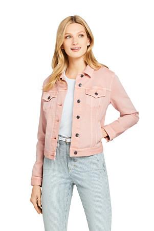 sale retailer c3e38 d1cb4 Jeansjacke in Farbe für Damen | Lands' End