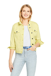 Women's Coloured Denim Jacket