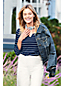Women's Weathered Indigo Denim Jacket