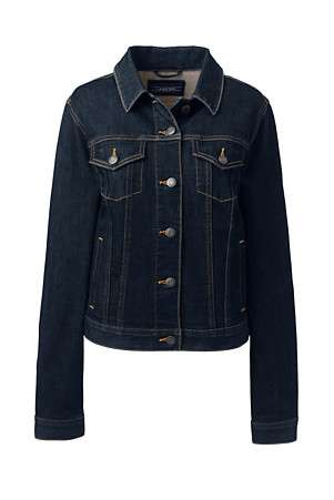 fd2ecfa9b50 Women's Indigo Denim Jacket | Lands' End