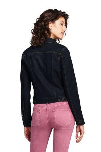 Women S Long Sleeve Denim Jacket From Lands End