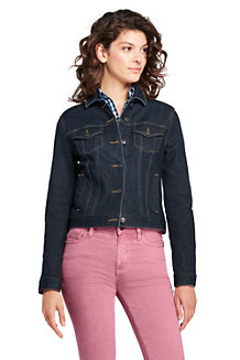 Women's Weathered Indigo Denim Jacket