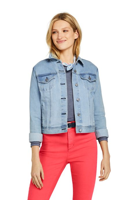 Women's Long Sleeve Denim Jacket