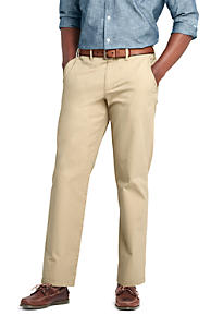 Mens Traditional Fit Everyday Chinos - 30 - WHITE Lands End uj3fTTGHK