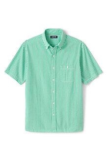 Seersucker-Kurzarmhemd für Herren, Classic Fit