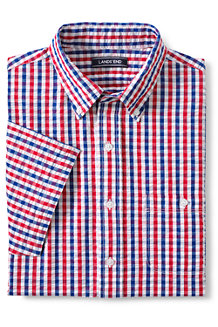 Men's Seersucker Cotton Shirt