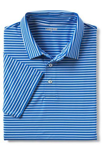 Men's Short Sleeve Stripe Comfort-First Golf Polo Shirt