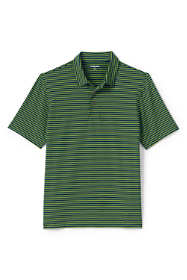 Men's Tall Short Sleeve Stripe Comfort-First Golf Polo Shirt