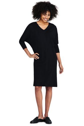 La Robe Housse Stretch Manches Chauve-Souris, Femme Stature Standard