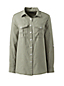 Women's Linen Shirt with Roll Sleeves