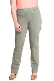 Women's Plus Size Exclusive Pull On Jeans