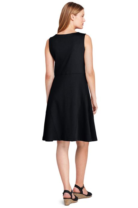 Women's Sleeveless Ponte Aline Dress