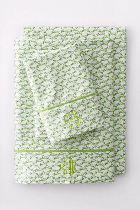 No Iron Supima Print Pillowcases