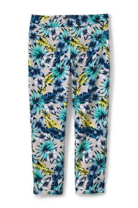 Women's Tall Mid Rise Bi-Stretch Pencil Crop Pants