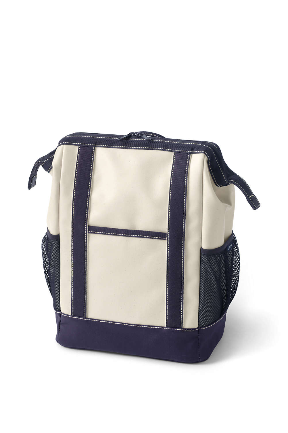 Coated Canvas Insulated Backpack Cooler from Lands  End 82a8218820b13