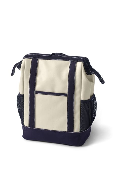 Coated Canvas Insulated Backpack Cooler