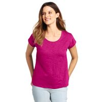 Deals on Lands End Womens Tall Dolman Sleeve Scoop Neck T-Shirt