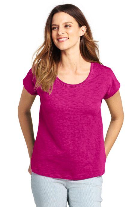 Women's Dolman Sleeve Scoop Neck T-Shirt