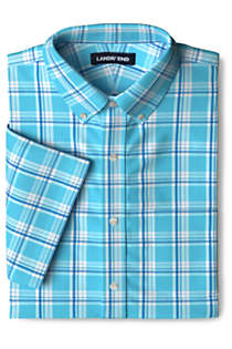 Men's Short Sleeve Traditional Fit Comfort-First Shirt with Coolmax, Unknown