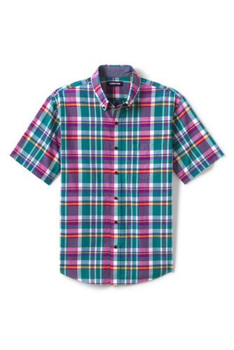 Men's Madras Check Shirt