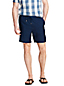Men's Linen Shorts with Elastic Waist