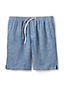 Leinen-Shorts für Herren, 23 cm