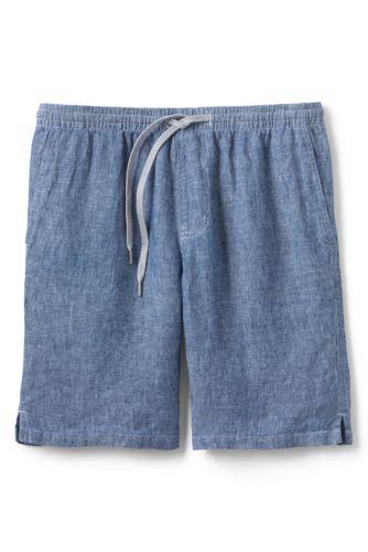 e1db168147 Men's Linen Shorts with Elastic Waist | Lands' End