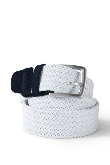 Men's Elastic Braid Golf Belt
