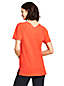 Women's Short Sleeve Tunic Top in Cotton/Modal