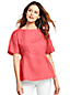 Women's Embroidered Linen Top