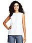 Women's Linen Embroidered Summer Top