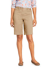 "Women's Mid Rise 12"" Chino Bermuda Shorts"